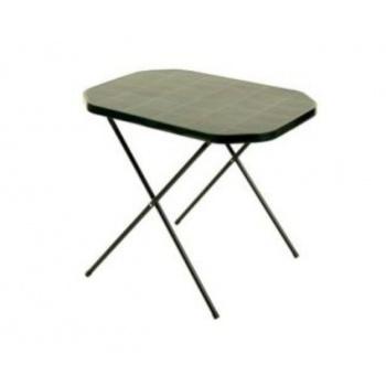 Menší venkovní skládací stolek- kempování, zahrada, chata- zelený
