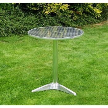 Venkovní hliníkový stolek, kulatý