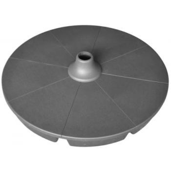 Plastový stojan na slunečník- k naplnění vodou / pískem, 5 kg