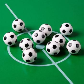 10 ks míček pro stolní fotbal, vzhled fotbalového míče, průměr 31 mm