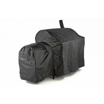 Ochranný obal pro zahradní grily, PVC, černý, 150x72x124 cm