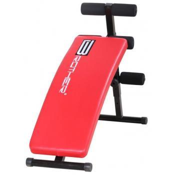 Fitness lavice na sedy- lehy, prohnutá, nastavitelný úhel