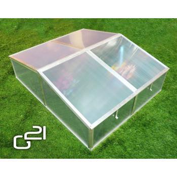 Pařeniště z polykarbonátových desek, 100x120x40 cm
