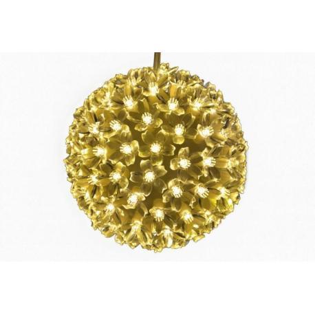 Vánoční svítící koule do bytu, průměr 15 cm