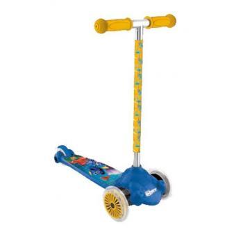 Dětská koloběžka s kloubovým řízením, 2 kolečka vepředu