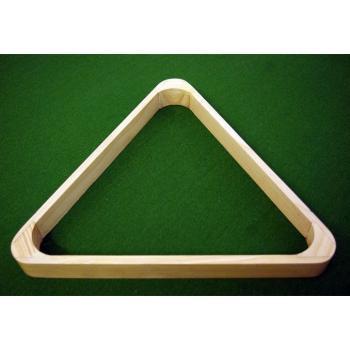 Dřevěný trojúhelník ke kulečníkům, 34 cm, pro koule 57,2 mm