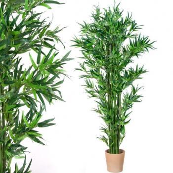 Velký umělý bambus, rostlina jako živá, 190 cm