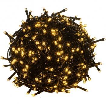 Vánoční LED řetěz svítící, venkovní / vnitřní, 200 LED, 20 m
