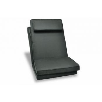2 ks polstrování na židle, nízké opěradlo, pratelný potah, antracit