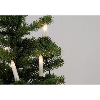 Vánoční elektrické svíčky na stromeček vnitřní, klasický vzhled, 15 m