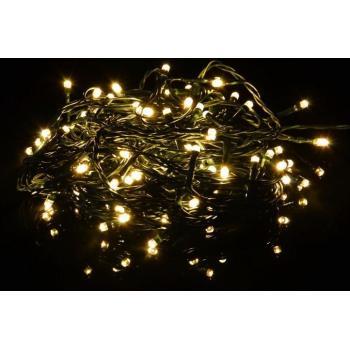 Světelný LED řetěz do zásuvky venkovní / vnitřní, 80 LED, 8 m