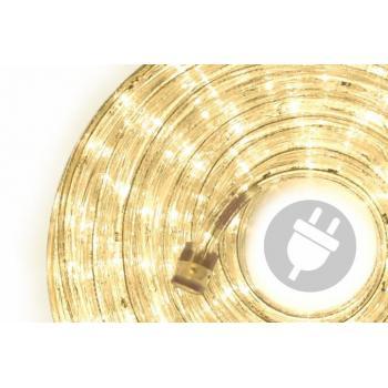 Světelný kabel LED teple bílý, venkovní / vnitřní, 960 LED, 40 m