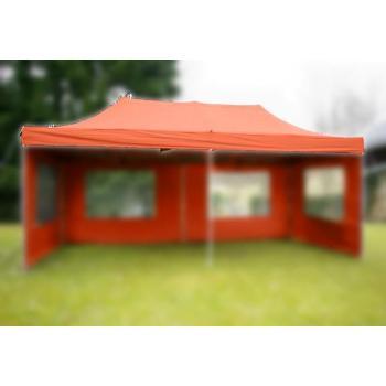 Samostatná střecha pro nůžkové stany 3x6 m, terakota