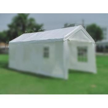 Samostatná střecha (plachta střechy) pro párty stany 4x8 m, bílá