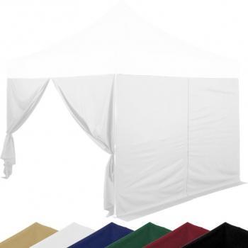 Sada 2 bočních stěn na stany INSTENT 3 x 3 m - bílá
