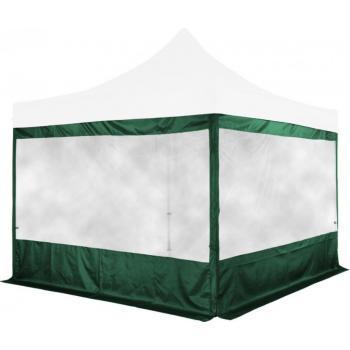 Sada 2 bočních stěn na stany INSTENT 3 x 3 m - zelená