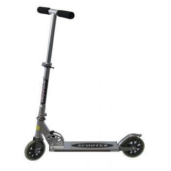 Skládací koložběžka s menšími kolečky CSK3, pro děti i dospělé- nosnost 100 kg, 3 barvy