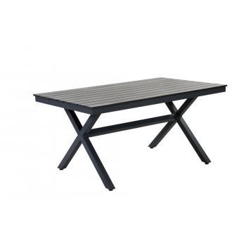 4c687befb7cc Masivní venkovní stůl hliník   polywood