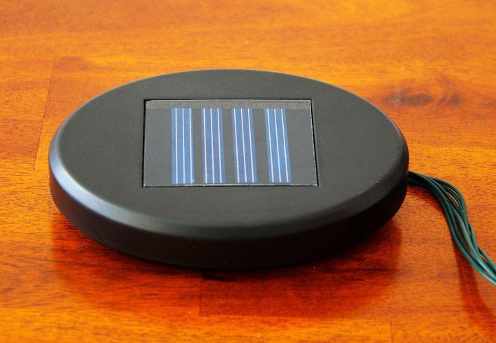 Solární osvětlení - venkovní řetěz s LED diodami, studená bílá, 50 LED