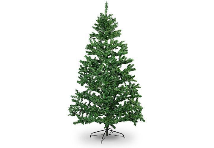 Umělý vánoční stromek jako živý se stojanem, 1,8 m