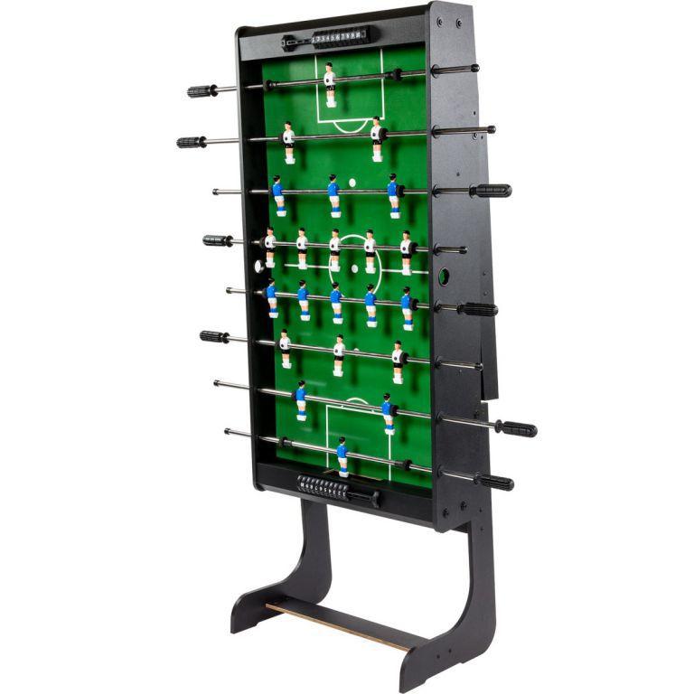 Skládací stolní fotbal, nastavitelné nohy, 121x101x 79 cm