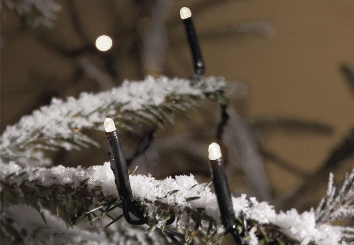 Vánoční LED světelný řetěz venkovní / vnitřní, 300 LED, 30 m
