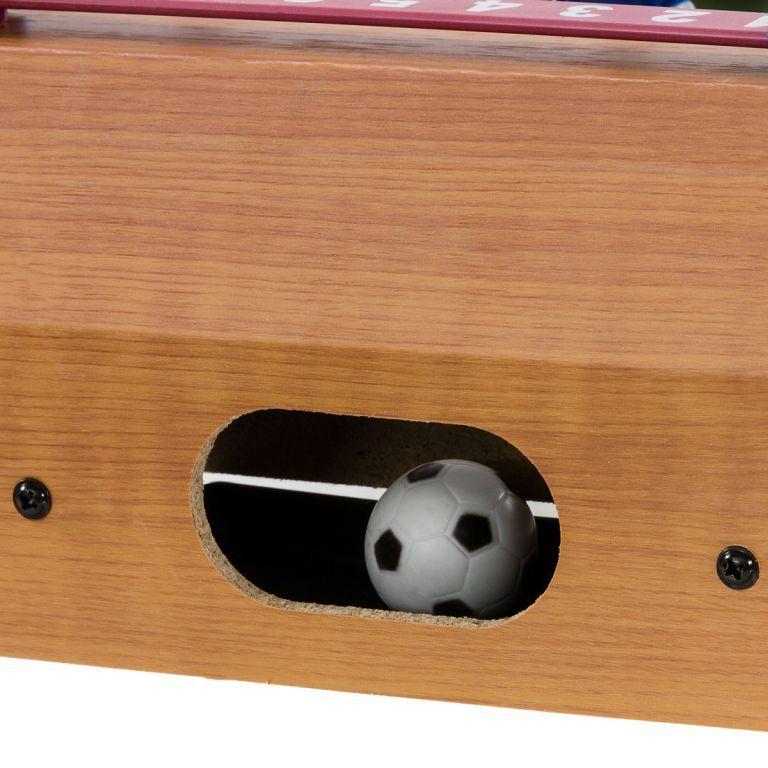 Mini stolní fotbálek na stůl, počitadlo skóre, 51x31x8 cm