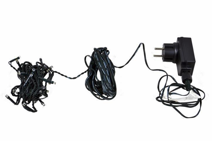 Vánoční LED řetěz venkovní / vnitřní, 400 LED diod, 40 m