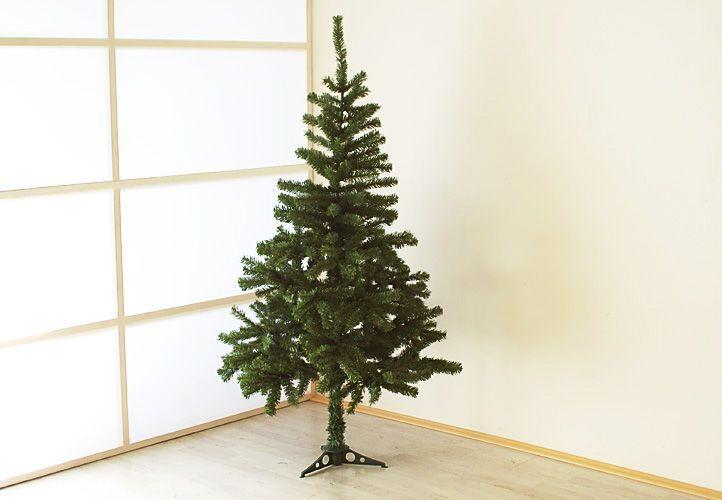 Umělý vánoční stromek jako živý, vč. stojanu, zelený, 1,5 m