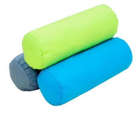 Okrasný poltář ve tvaru válce, výplň polyuretanová drť, různé barvy