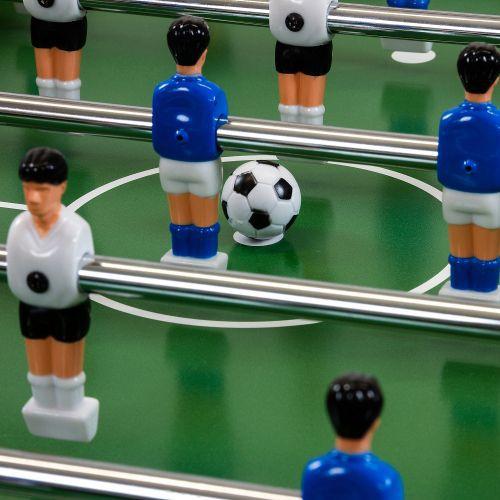Stolní fotbal sklopný vč. příslušenství 121x101x79 cm