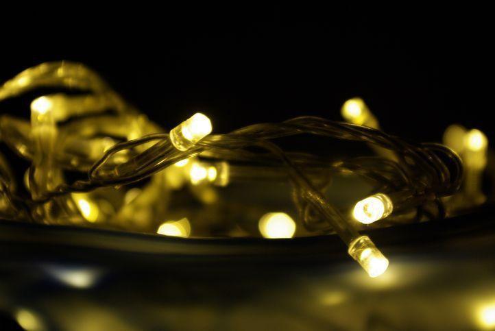 Vánoční LED dekorace - světelný řetěz na baterie, LED diody, 3 m