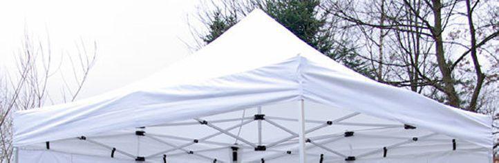 Samostatná střecha k profi párty stanům 3x3 m, nepromokavá, bílá