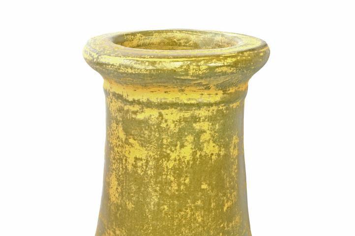 Venkovní designový krb na terasu, terakota, 88 cm