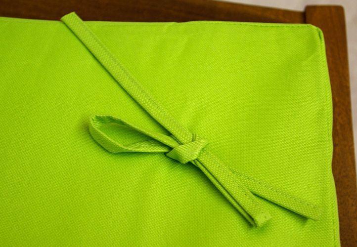 Luxusní vysoké polstrování na relaxační lehátka, snímatelný potah, zelené
