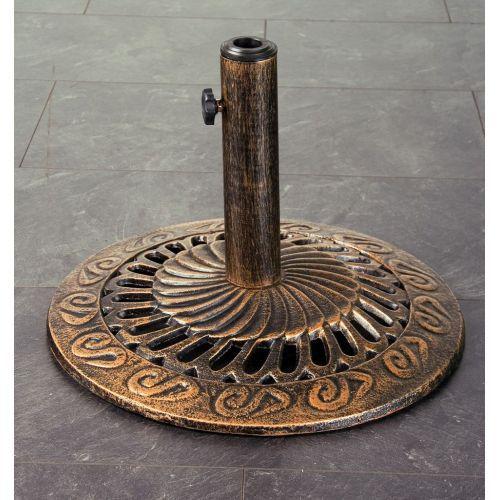 Ozdobný stojan pro slunečníky do 3 m, historický vzor, 10,5 kg