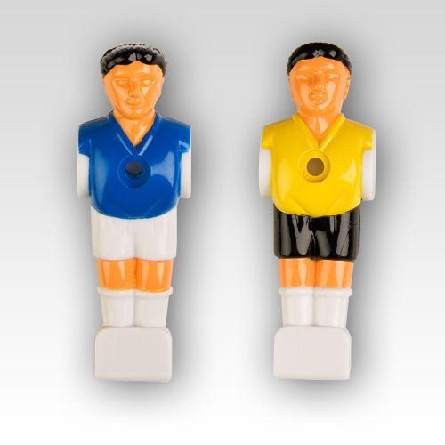 22 ks figurky pro stolní fotbal, pro tyče 15,9 mm