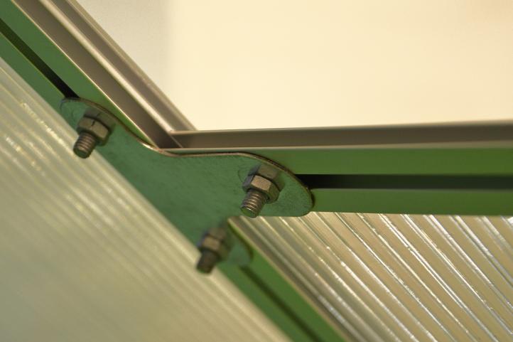 Zahradní polykarbonátový skleník 311x190x195 cm, 2x uzaviratelné okno