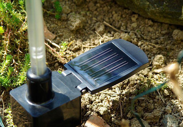 4 ks dekorativní zahradní solární tyč svítící, různé barvy, 70 cm
