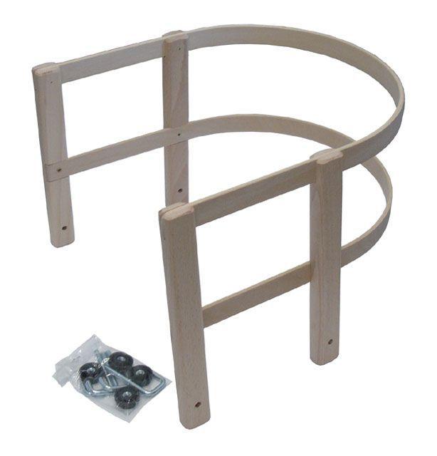 Dřevěná ohrádka na sáňky, rychloupínací systém