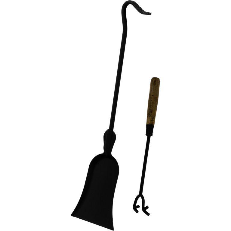 Okrasný venkovní litinový krb na terasu, černý, 120 cm