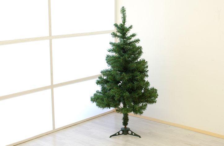 Umělý vánoční stromek jako živý, vč. stojanu, 1,2 m