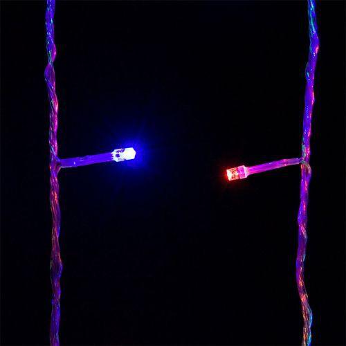 Vánoční osvětlení - LED řetěz venkovní / vnitřní, 600 LED diod, 60 m