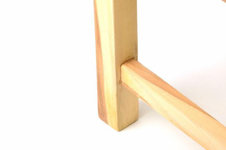 Dřevěná zahradní lavice z týkového dřeva 150 cm, pro 3 osoby