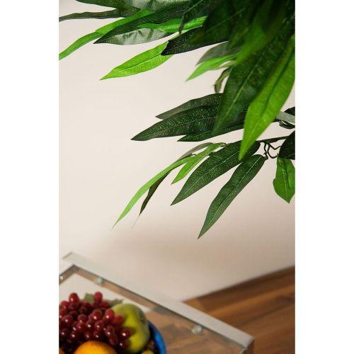 Umělá rostlina - mango jako živé, kmen z pravého dřeva, 180 cm