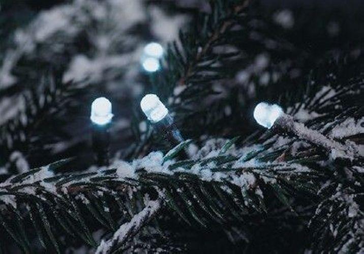 Vánoční svítící řetěz z LED diod venkovní / vnitřní, 200 LED, 18 m