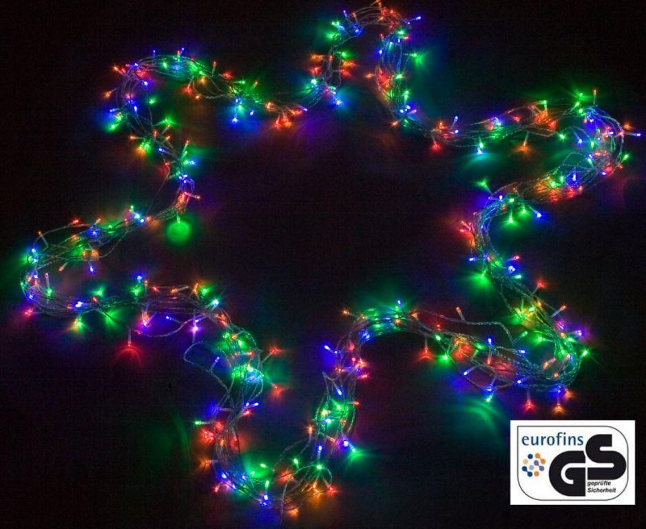Vánoční osvětlení venkovní / vnitřní, LED řetěz, 100 LED, 10 m
