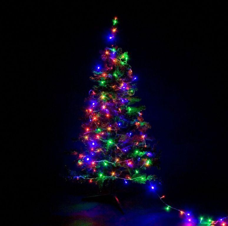 Vánoční osvětlení venkovní / vnitřní, LED řetěz, 400 LED, 40 m