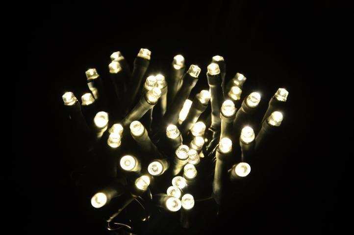 Vánoční osvětlení - svítící řetěz z LED diod vnitřní, 200 LED, 20 m