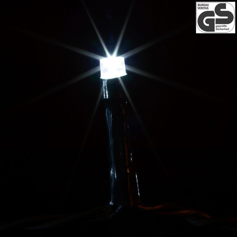Vánoční světelný LED řetěz venkovní / vnitřní, 600 diod, 60 m